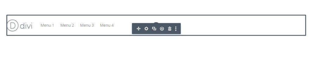Menu Module Left Align with Logo